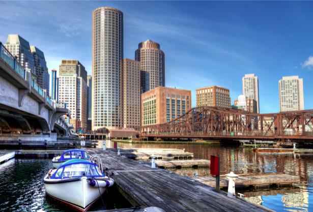 Фотообои мегаполис мост причал (city-0000780)