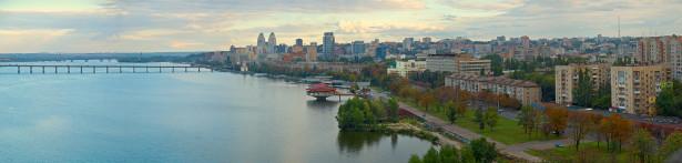 Фотообои панорама Днепропетровска (city-0000938)