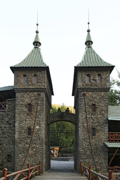Фотообои замок Монте Кристо (city-0000987)