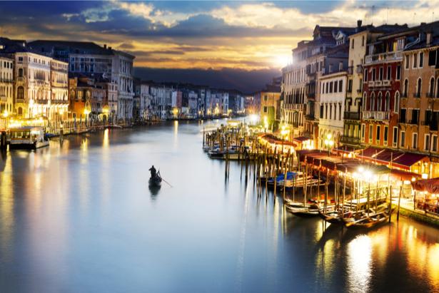 Фотообои Италия венеция канал (city-0001006)