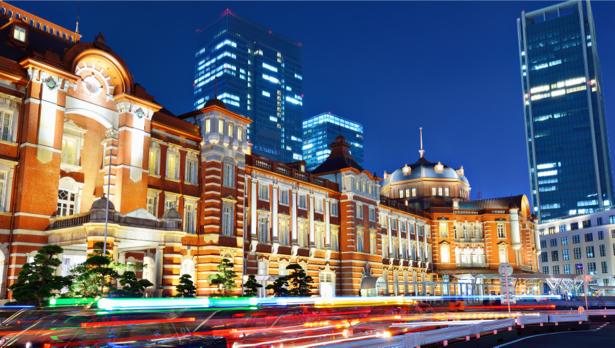 ночной Токио - Фотообои (city-0001159)
