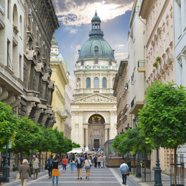 Фотообои Базилика Святого Иштвана (city-0001330)