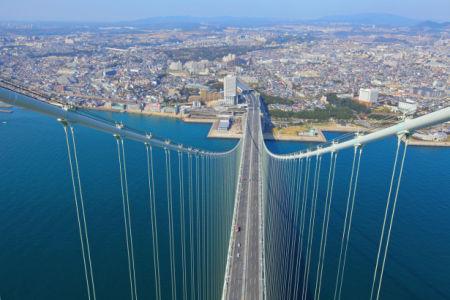 Фотообои Мост Акаси-Кайкё Япония (city-0001375)