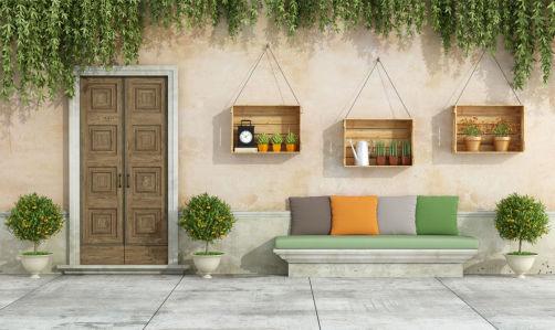 Фотообои дверь в загородный дом (door5)