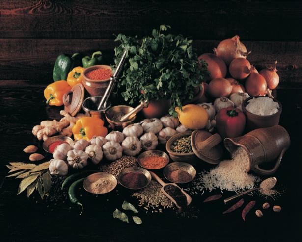 Натюрморт из продуктов обои на кухню (food-0000004)