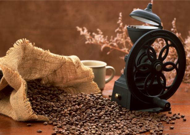 Фотообои винтажный натюрморт с кофе (food-0000125)