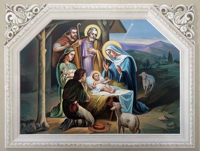 Фотообои Сцена Рождества (icon-00125)