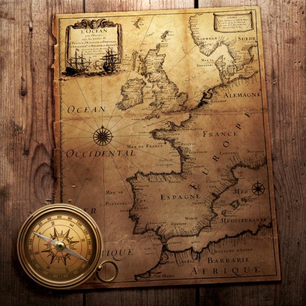 атлас, география, карты, старая карта (map-0000159)