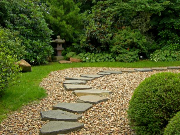 Фотообои японский сад галька (nature-00545)