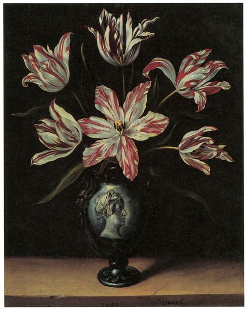 цветы в вазе натюрморт (pf-75)