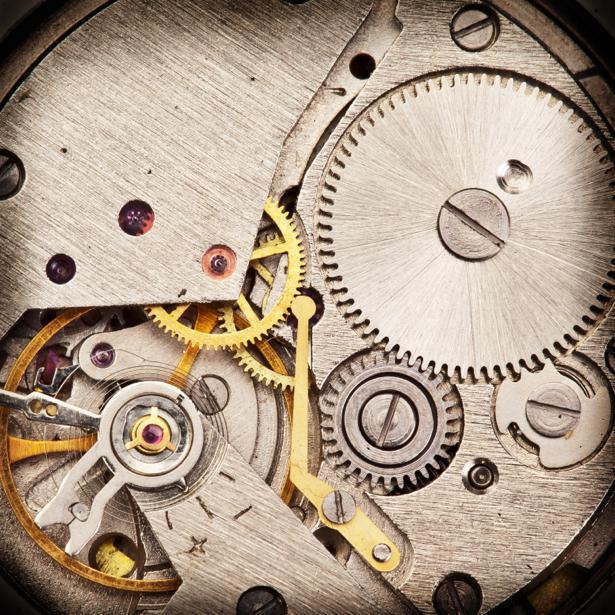 Фотообои часы старые (retro-vintage-0000203)