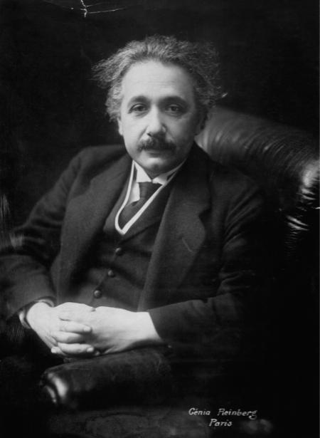 Альберт Энштейн, физик (retro-vintage-0000305)