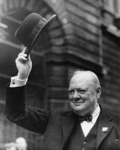 Фотообои Черчилль премьер-министр (retro-vintage-0000358)