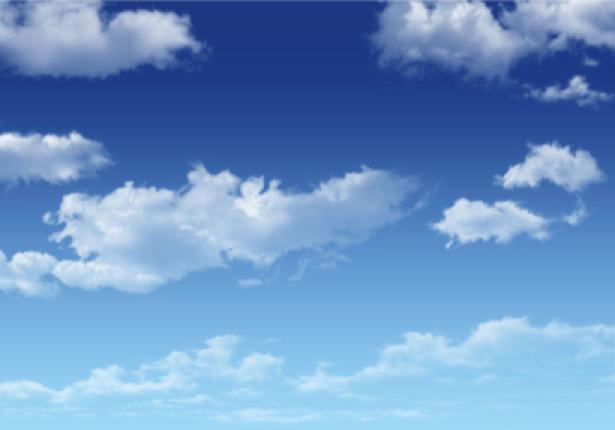 Фотообои голубое небо в облака (sky-0000114)