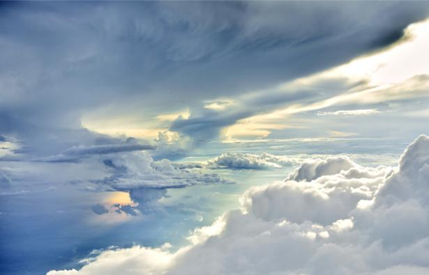 Фотообои между облаков небо (sky-0000140)