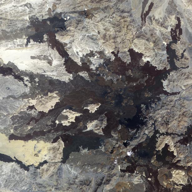 Фотообои 3д фактура гор для стен (terra-00046)