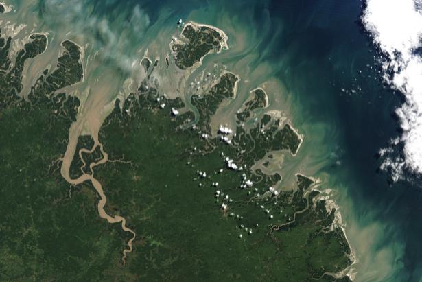 Фотообои 3д соединение моря и суши (terra-00049)