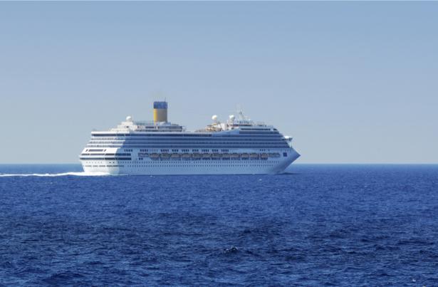 Фотообои круизный лайнер океан (transport-0000157)