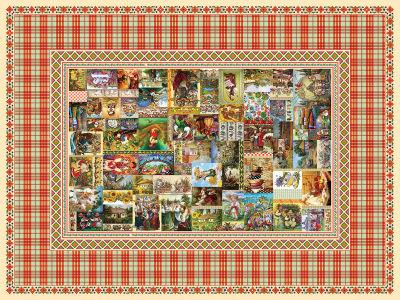 Скатерть Українське життя в картинах 2 (0198)