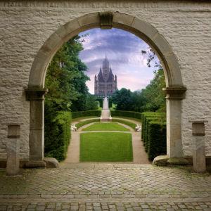 Фотообои арка замок (city-0000142)