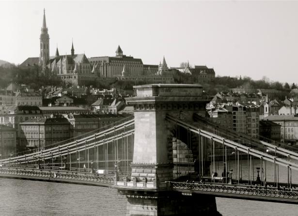 Фотообои Цепной мост в Будапеште, Венгрия (city-0000203)
