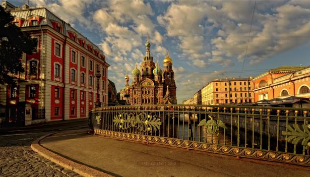 Фотообои Санкт-Петербург Храм Спаса на Крови (city-0000501)