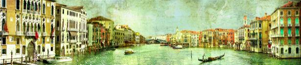 Фотообои в зал канал в Венеции (city-0000650)
