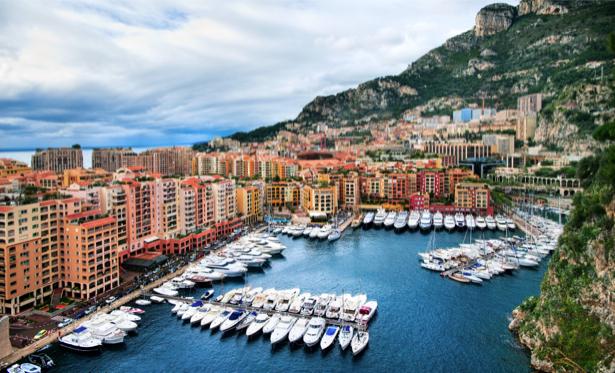 Фотообои Монако улицы крыши домов (city-0000722)