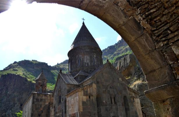 Фотообои церковь храм арка (city-0000763)