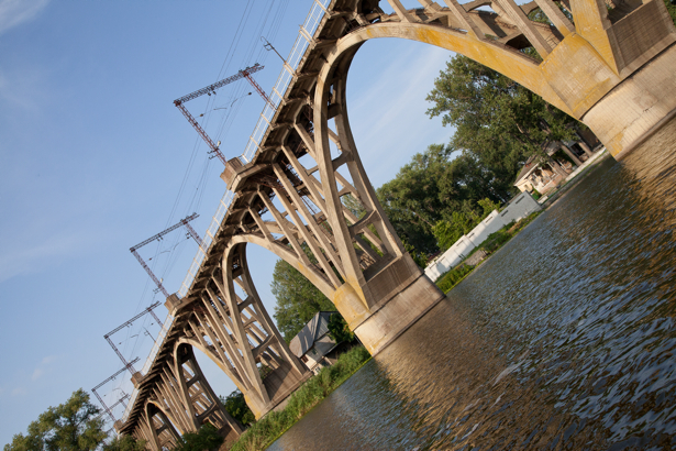 Фотообои Днепропетровск река Днепро (city-0000872)