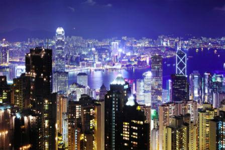 Фотообои - мегаполис ночью (city-0001142)