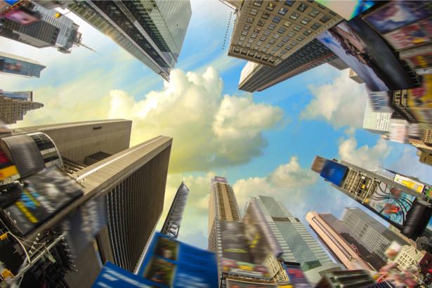 Фотообои высотные здания америки (city-0001162)
