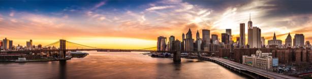 Фотообои Бруклинский мост Нью-Йорк США (city-0001342)