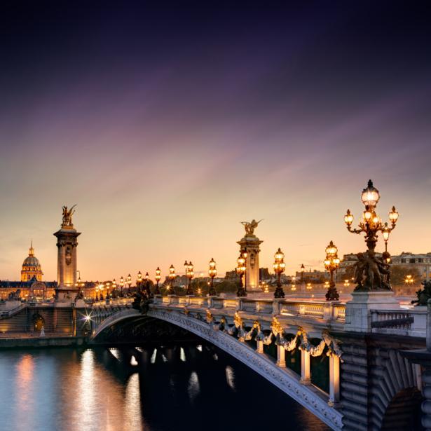 Фотообои Мост Александра III, Париж (city-0001379)