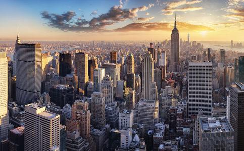 Фотообои Нью-Йорк вечерний (city-1487)