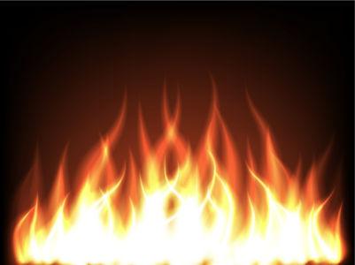 Фотообои пламя костра (fantasy-0000104)