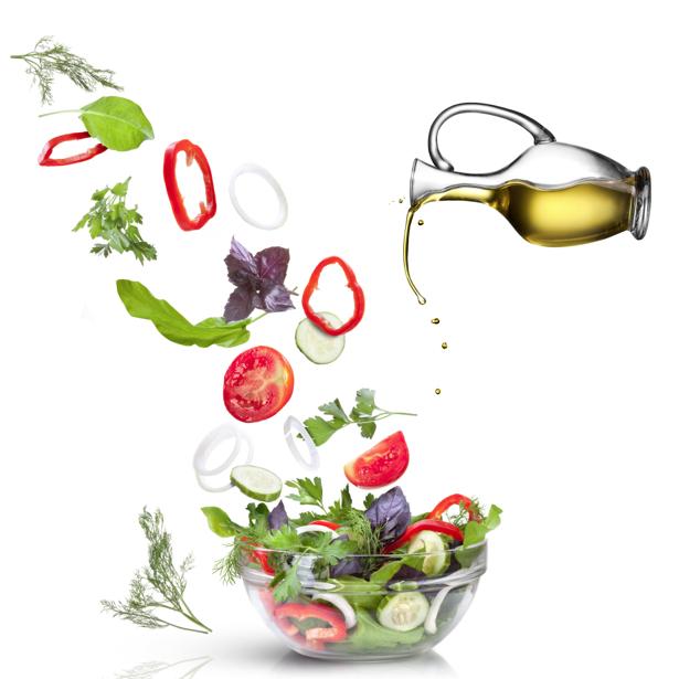 Фотообои для кухни ассорти, салат (food-0000189)