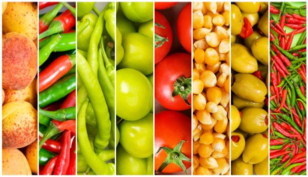 Фотообои для кухни Овощи фрукты (food-0000198)