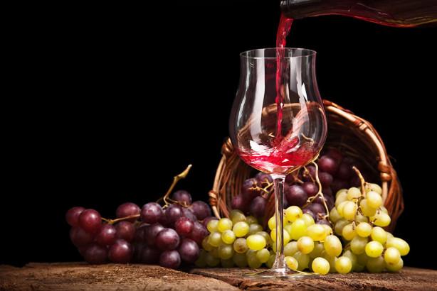 Фотообои Вино в бокале (food-370)