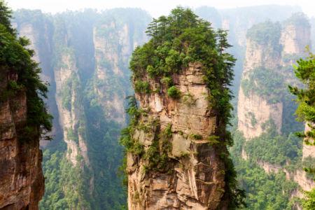 Фотообои Китайские горы вершины (nature-0000840)