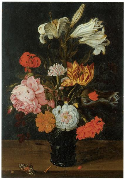 Jan Baptist I Van Fornenburgh цветы, букет (pf-46)