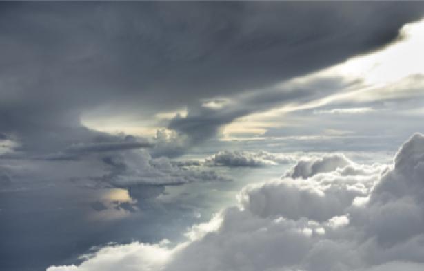 Фотообои красивое небо с облаками (sky-0000014)