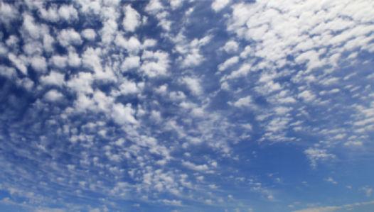 Фотообои небо перьевые облака (sky-0000096)