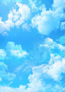 Фотообои голубое облачное небо (sky-0000150)