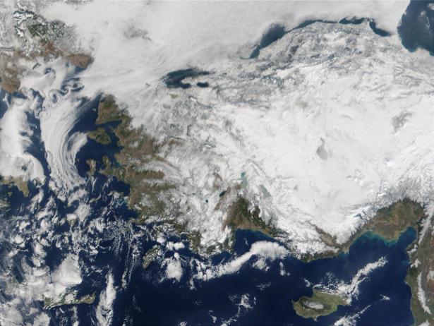 Фотообои фактура снежный рисунки (terra-00243)