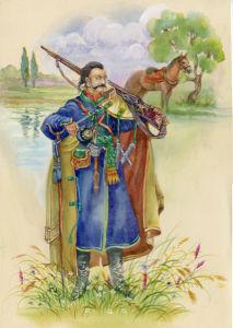 Украинский казак (ukraine-0219)