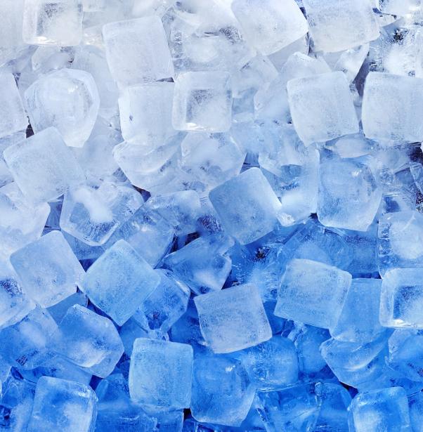 Фотообои лед ледяные кубики (background-0000222)