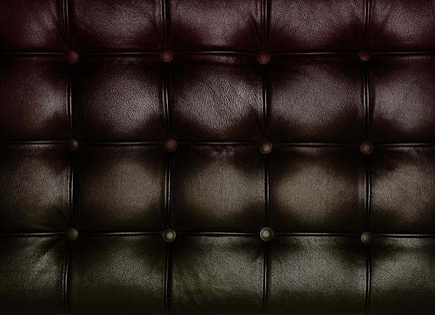 Фотообои черная текстура кожаной обивки (background-0000323)