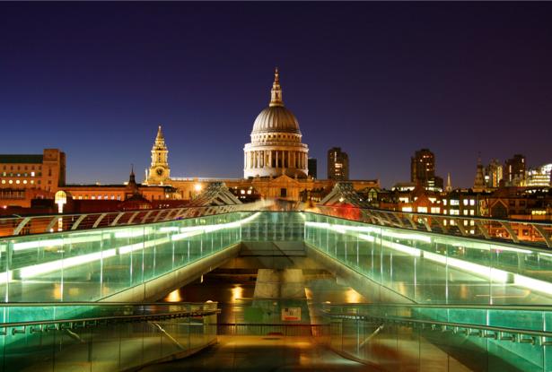 Фотообои Лондон, ночь город, Англия (city-0000071)