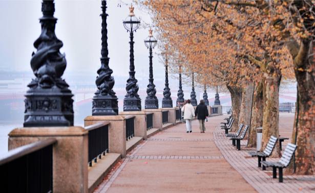 Фотообои Англия, Лондон, набережная (city-0000159)